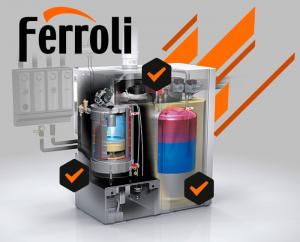 Contratos de mantenimiento de calderas Ferroli en Toledo