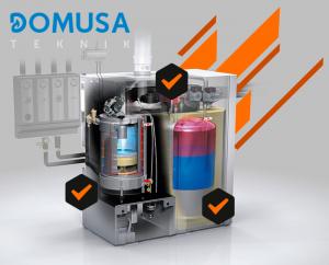 contratos de mantenimiento de calderas Domusa en madrid