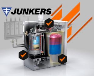 Contratos de mantenimiento de calderas Junkers en Madrid
