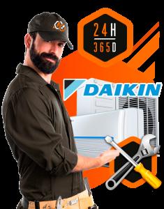 reparación aire acondicionado Daikin en MAdrid