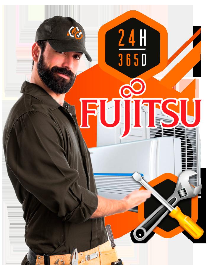 Reparación aire acondicionado Fujitsu en Madrid