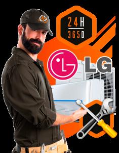 reparación aire acondicionado LG en MAdrid