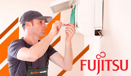Reparación urgente averías  aire acondicionado Fujitsu en Madrid