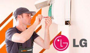 arreglar averías aire acondicionado LG en Madrid