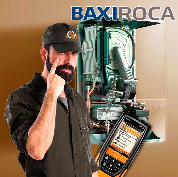revisión de calderas BaxiRoca en toledo Obligatoria