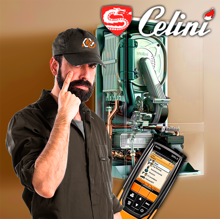 revisión de calderas Celini en toledo Obligatoria
