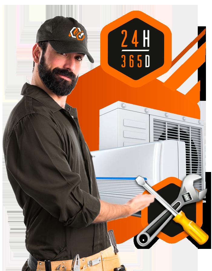 AAC servicio técnico aire acondicionado