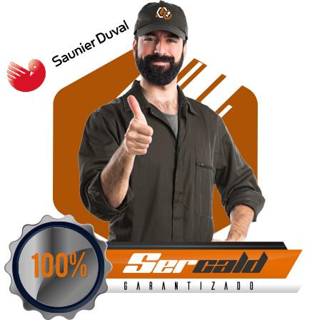 Servicio técnico autorizado y certificado Saunier Duval en Getafe